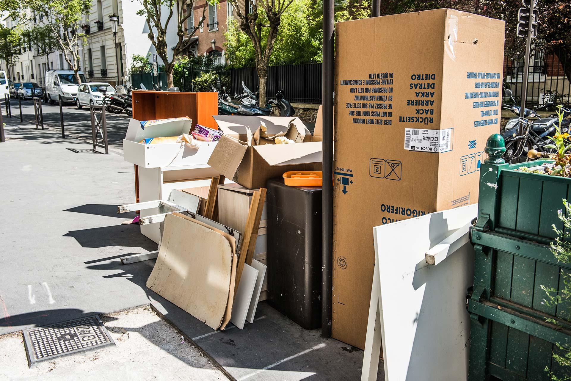 Or, avec le temps, les équipes du service collecte et propreté de la Ville ont fait le constat.